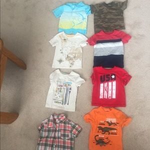 Boys 12 month shirt bundle